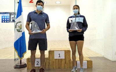 Galicia y Aguilar dominan el Open Guatemala 2021